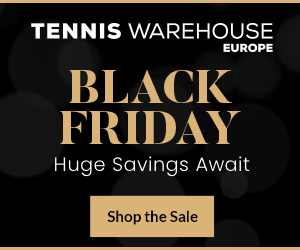 Tennis Warehouse Europe 300X250