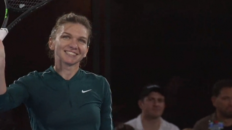 Highlights: Halep - Barty (vid)