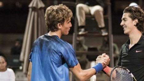 When Tsitsipas first met Kokkinakis in Athens (pics+vid)