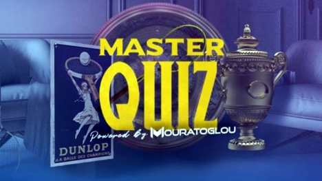 Mouratoglou launches 'MASTER QUIZ, an online tennis quiz for the world's tennis fans!